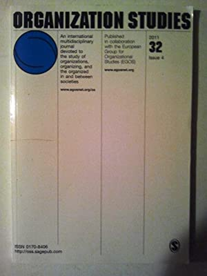 Organisation Studies an international multidisciplinary journal devoted: David Courpasson, David