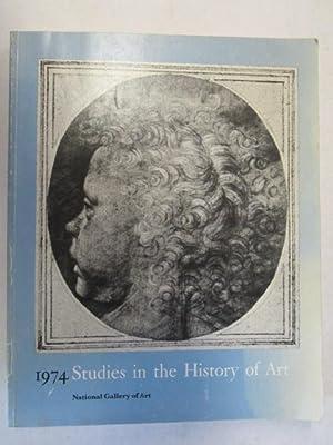 1974, Studies In The History Of Art, Volume 6.: Grossman, Sheldon(Chairman Of Editorial Board).