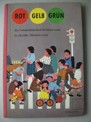 Rot Gelb Grün Verkehrsbilderbuch für kleine Leute