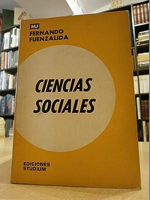 CIENCIAS SOCIALES.: FUENZALIDA, FERNANDO.