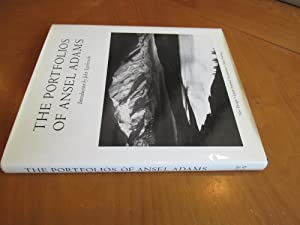 The Portfolios Of Ansel Adams (Signed By Adams), New Printing With New Design And Laser-Scanned S...