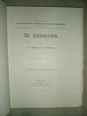 Die Anthomyiden [bound together with one other monograph]