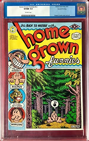 HOME GROWN FUNNIES (2nd. Print - May: CRUMB, ROBERT