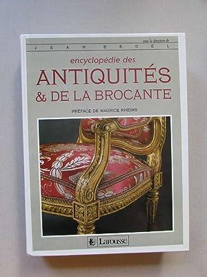 Encyclopédie des antiquités & De la brocante: Bedel, Jean und Maurice Rheims: