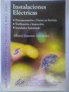 Instalaciones eléctricas (sin CD): Alberto Guerrero Fernández
