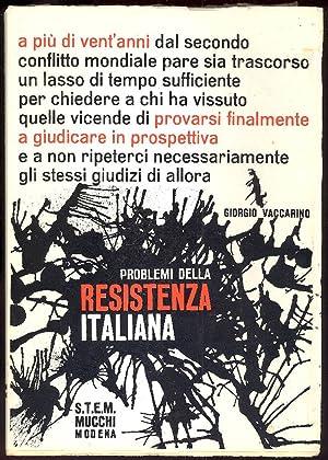 Problemi della Resistenza italiana: VACCARINO Giorgio