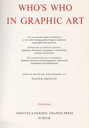Who's who in graphic art: AMSTUTZ Walter