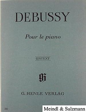 Pour le piano. Prélude, Sarabande, Toccata. Nach: Debussy, Claude.