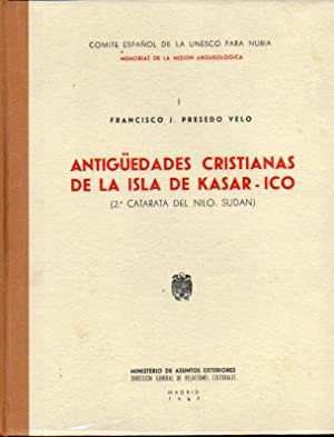 ANTIGÜEDADES CRISTIANAS DE LA ISLA DE KASAR-ICO: Presedo Velo, Francisco