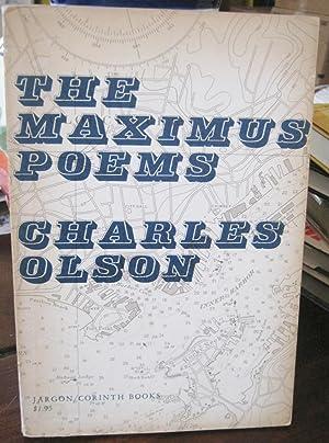 Immagine del venditore per THE MAXIMUS POEMS (Inscribed) venduto da Steven Temple Books, ABAC / ILAB / IOBA