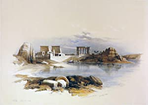 PHILAE [Showing the Temple of Isis, Being: Roberts David; [Egypt]
