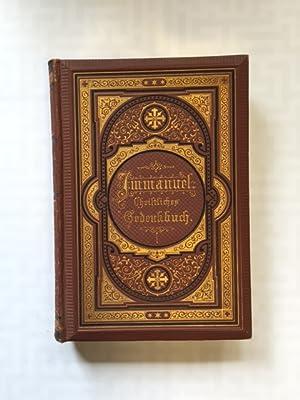 Immanuel - Christliches Gedenkbuch auf alle Tage des Jahres: Calwer Verlagsverein: