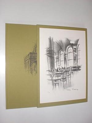 Auf dem Balkon. Kleine Erzählungen und Studien. Mit zehn Lithographien von Rolf Escher.: EDITION ...