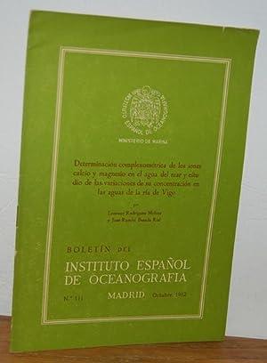 Boletín del Instituto Español de Oceanografía, nº: LORENZO RODRÍGUEZ MOLINS,