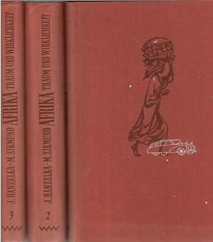 3 Bände komplett Afrika, Traum und Wirklichkeit eine Reisedokumentation von Jirí Hanzelka Die ...
