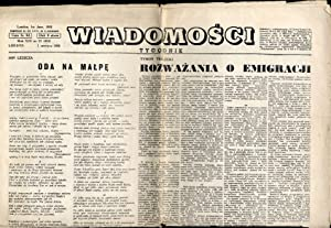 Wiadomosci. Tygodnik. R.13 (1 VI 1958) nr