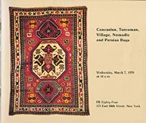 Caucasian, Turcoman, Village, Nomadic and Persian Rugs