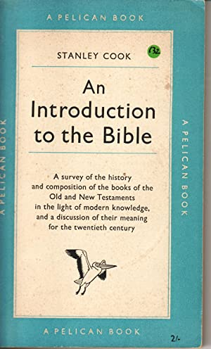 An Introduction to the Bible: Stanley Cook