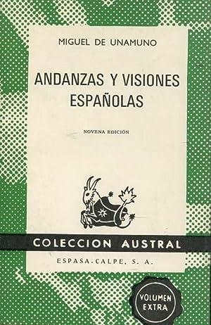 Andanzas Y Visiones Espanolas: Unamuno, Miguel de