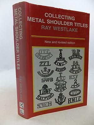COLLECTING METAL SHOULDER TITLES: Westlake, Ray