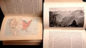 Stanford's North America (Part of the Compendium of Geography Series) 2 volumes The United ...