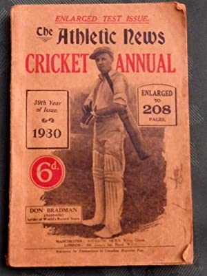 The Athletic News Cricket Annual. 1930: Ivan Sharpe (editor)