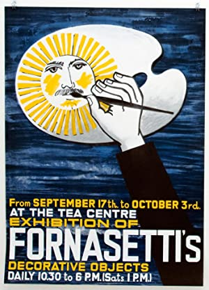 Exhibition of Fornasetti's Decorative Objects