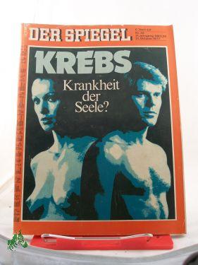 Bild des Verkäufers für 45/1977, Krebs Krankheit der Seele zum Verkauf von Antiquariat Artemis Lorenz & Lorenz GbR
