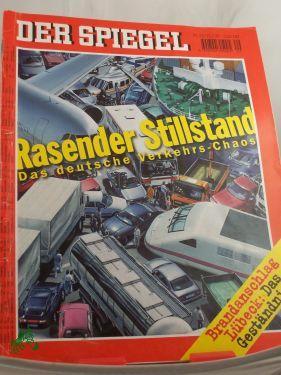 Bild des Verkäufers für 29/1998, Rasender Stillstand zum Verkauf von Antiquariat Artemis Lorenz & Lorenz GbR