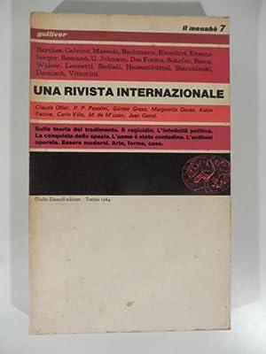 Il menabo' 7 diretto da Elio Vittorini e Italo Calvino: PASOLINI Pier Paolo,CALVINO Itali,...