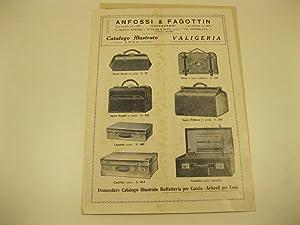 Anfossi & Fagottin. Successori. Torino. Catalogo illustrato 1928. Valigeria: Anonimo