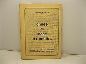 Immagine del venditore per Chiese di Mede in Lomellina. venduto da Coenobium Libreria antiquaria