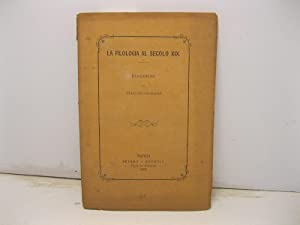 La filologia al secolo XIX: LIGNANA Giacomo