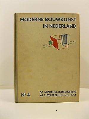 Moderne bouwkunst in Nederland. No 4 etagehuis en flat. Maison d'appartements: AA.VV.