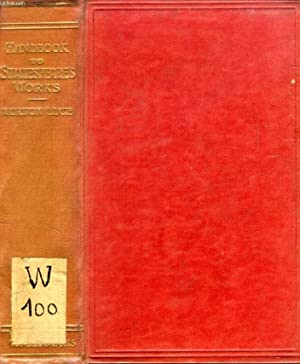 A HANDBOOK TO THE WORKS OF WILLIAM: LUCE MORTON