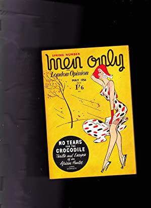 MEN ONLY and London Opinion magazine. MAY 1956