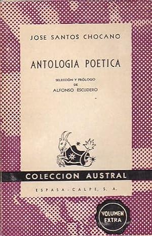 Antología poética: SANTOS CHOCANO, José