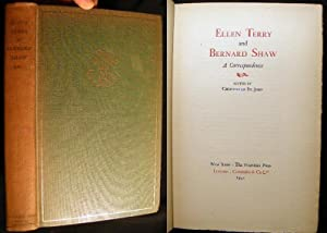 Ellen Terry and Bernard Shaw a Correspondence Edited By (Miss) Christopher St. John (with) the ...