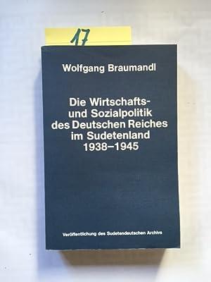 Veröffentlichung des Sudetendeutschen Archivs in München - Band 20: Die Wirtschafts- und ...