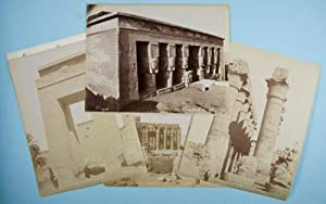 15 vintage photographs of Egypt: Peridis; Langaki; J.P. Sebah; G. Lekegian and others
