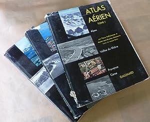 Atlas Aérien. 3 volumes.: Deffontaines (Pierre) et Jean-Brunhes Delamarre (Mariel).