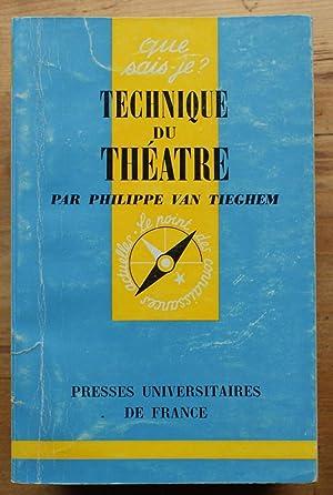 Que sais-je ? n° 859 - Technique: Philippe Van Tieghem