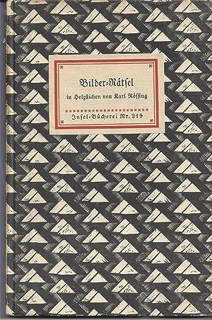 Bilder-Rätsel in Holz-Stichen.: Rössing, Karl: