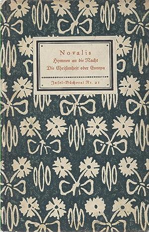 Hymnen an die Nacht - Die Christenheit: Novalis: