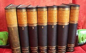 Luegers Lexikon der gesamten Technik und ihrer Hilfswissenschaften. [7 Bände:] Erster Band. A bis ...