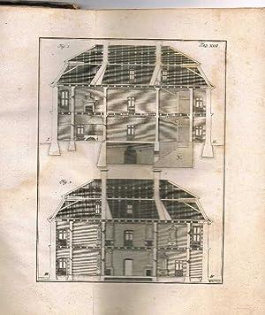 Erste Gründe der Bürgerlichen Baukunst in einem Zusammenhange entworfen.: Suckow, Lorenz Johann ...