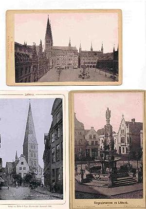 Schmuck Mappe mit 8 Lübeck Fotokarten.