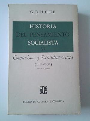 Historia del pensamiento socialista VI. Comunismo y: G. D. H.