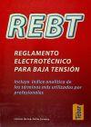 REBT, reglamento electrotécnico para baja tensión: EMILIO CARRASCO SANCHEZ