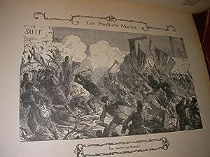 SOUVENIRS D'UN SOLDAT - LES FUSILIERS MARINS AU SIEGE DE PARIS. UN INVALIDE. LE SERGENT HOFF. ...